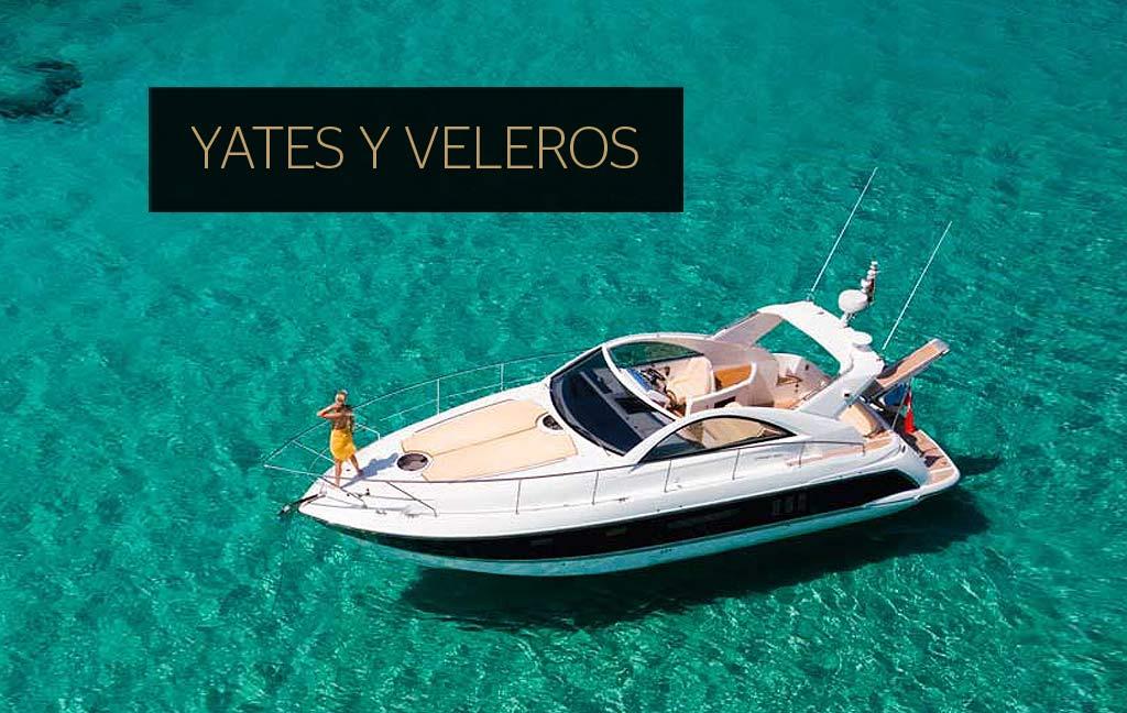 Alquiler de yates y veleros de lujo en Ibiza. Servicios VIP en Ibiza. Consulting Services Ibiza