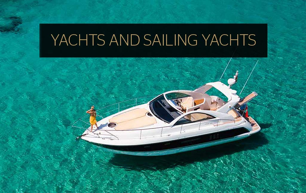 Rental of luxury yachts and sailing yachts in Ibiza. Consulting Services Ibiza
