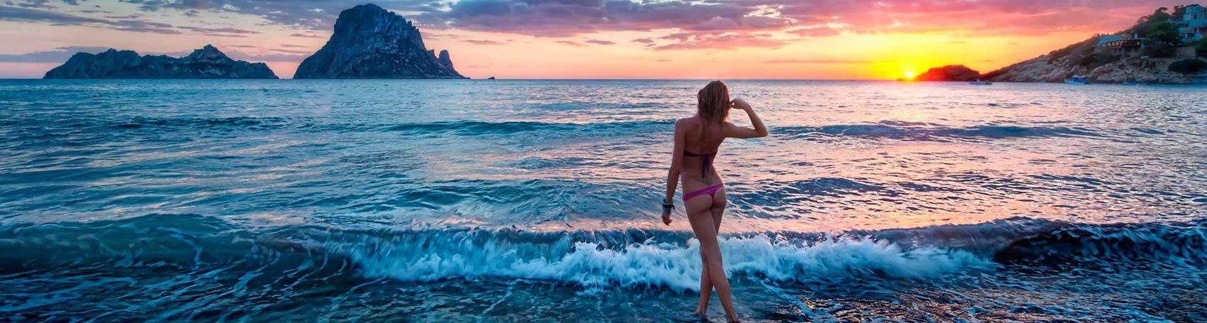 Información playas de Ibiza. Servicios VIP. Consulting Services Ibiza