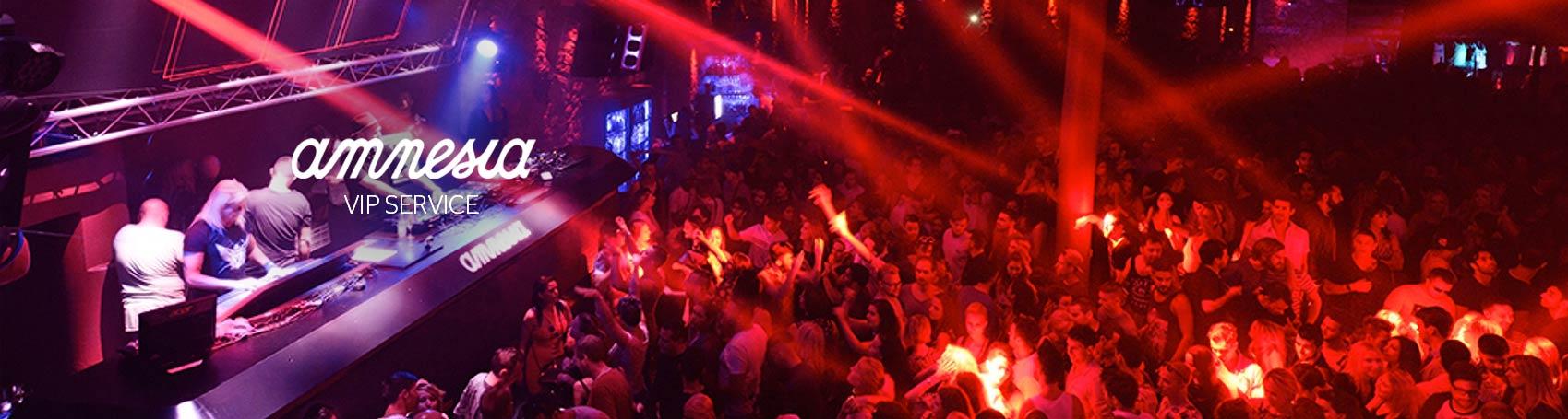 Table booking service nightclub Amnesia VIP in Ibiza. VIP services Ibiza. Consulting Services Ibiza
