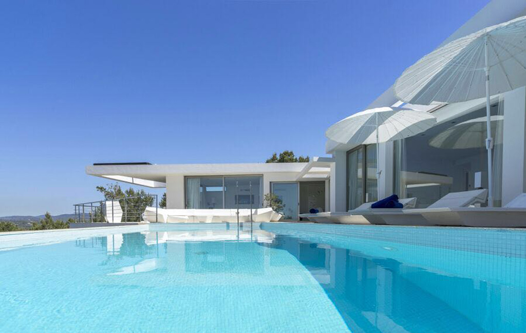 Sale of private luxury villas in Ibiza. VIP services in Ibiza. Consulting Services Ibiza